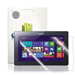 GreatShield Ultra Smooth Crystal Clear Screen Protector Film for Samsung ATIV Tab / P8510 (3 Pack) - LIFETIME...