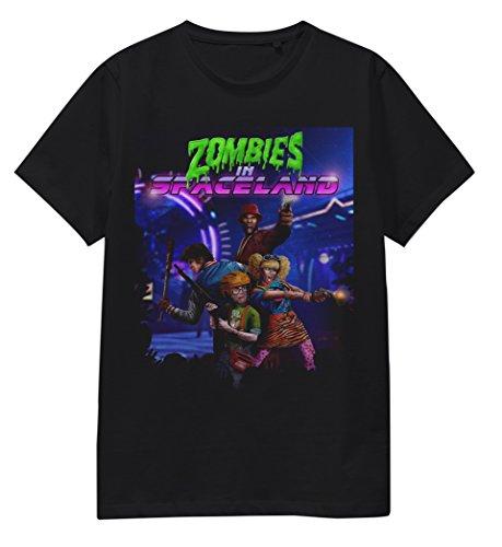 bwi-merchandise-limited-zombie-spaceland-mens-t-shirt-t-shirts-uomo-black-large