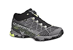 La Sportiva Synthesis Mid GTX Boot - Men\'s Grey / Green 39