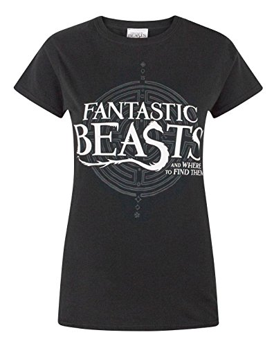 Fantastic Beasts and where to find them -  T-shirt - Maniche corte  - Donna Black X-Large