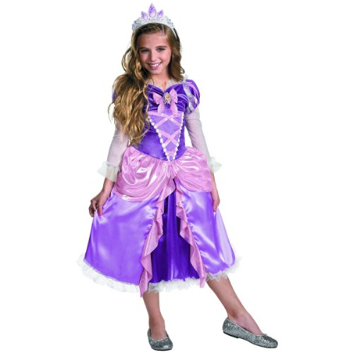 Rapunzel Shimmer Deluxe Costume - X-Small