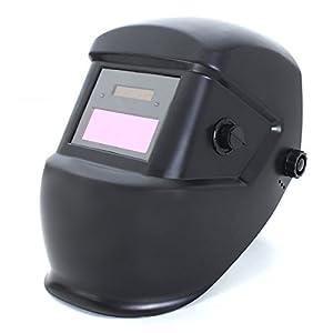 LOPEZ Solar Auto Welding Darkening Helmet for TIG/MIG/ARC Welder Machine Mask by LOPEZ