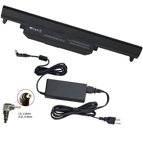 Asus F75VD-TY220H Laptop Batterie und Adapter (90 Watt, Premium Powerwarehouse 6 Zellen Batterie und Adapter (90 Watt)