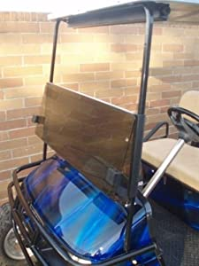 TINTED Windshield for EZGO TXT Golf Cart 1995 & Up by Franklin Golf Car