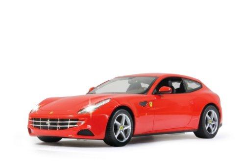 Jamara - Ferrari FF rouge  - Echelle 1:14 - Maquette Voiture Télécommandée