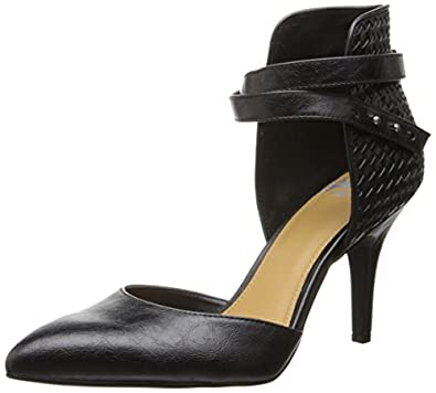 Fergalicious Women's Jacinda Dress Pump,Black,7.5 M US