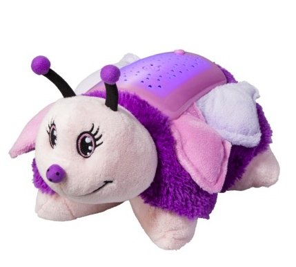 41j1czdM6DL Pillow Pets Dream Lites   Pink Butterfly 11