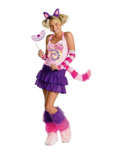 Kids-Costume The Cheshire Cat Child Xl 14-16 Halloween Costume