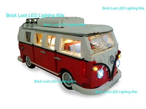 VW Camper Lighting Kit for LEGO Set # 10220 (VW Camper not included) by Brick Loot (Volkswagen T1 Camper Van compare prices)