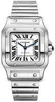 Cartier Men's W20098D6 Santos de Cartier Galb?e XL Automatic Watch from Cartier