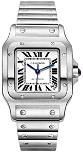 Cartier Men's W20098D6 Santos de Cartier Galb?e XL Automatic Watch from Cartier