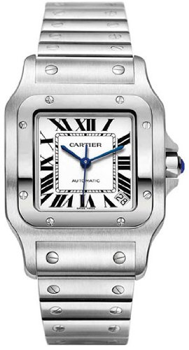 Cartier Men's W20098D6 Santos de Cartier Galb?e XL Automatic Watch
