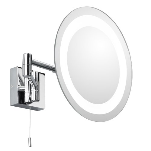 Astro 0356 G9 Genova Illuminated Mirror including 1 x 25 Watt 230 V Bulb, Chrome