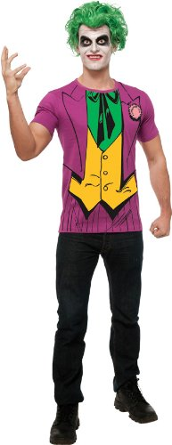 Rubie's Costume DC Comics Justice League Superhero Style Adult Printed Top
