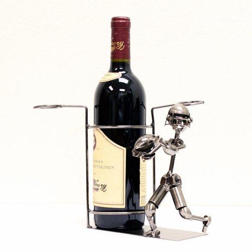 Baseball Player Wine Holder  Soccer Wine Holder