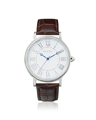 SHASHI Women's CLASS-WG Brown/White Gold Stainless Steel Watch