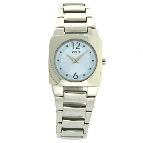 Lorus Ladies Watch Link Bracelet Sky Blue Dial