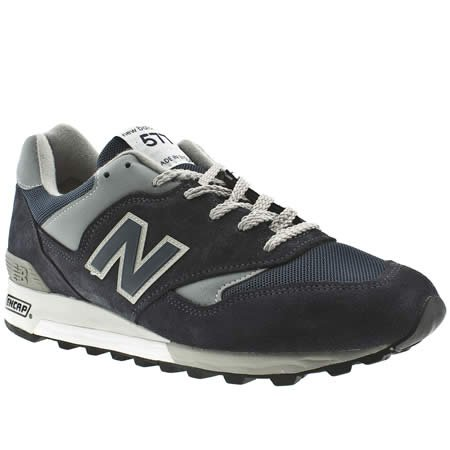 New Balance Nb 577 - 8 Uk - Navy - Suede