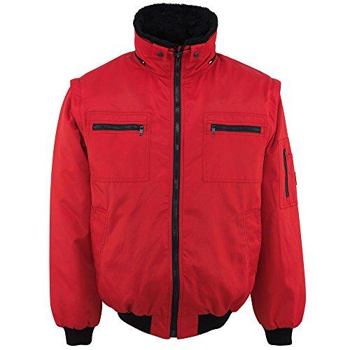 Mascot giacca Pilot Innsbruck fodera rimovibile 00520, rosso, 00520-620-02-M