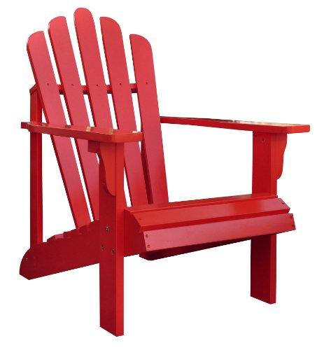 Hot Shine Company Westport Adirondack Chair Cherry Tomato