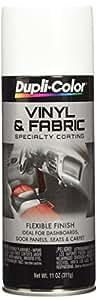 Dupli-Color HVP105 Gloss White High Performance Vinyl and Fabric Spray - 11 oz.