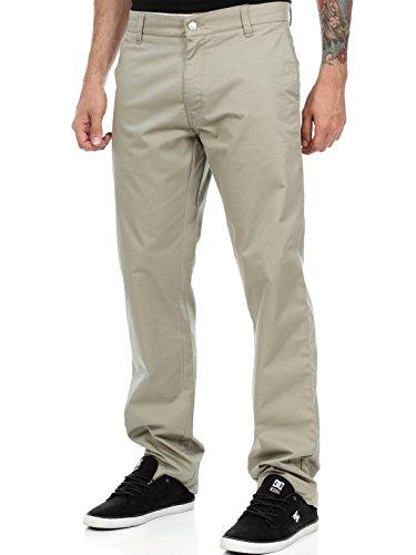Pantaloni West Coast Choppers Chino Beige-Kult Verde Scuro (34 Vita X 32 = Eu 48 , Verde Scuro)