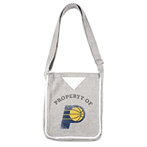 NBA Indiana Pacers Ladies Hoodie Crossbody Purse, Gray by Littlearth
