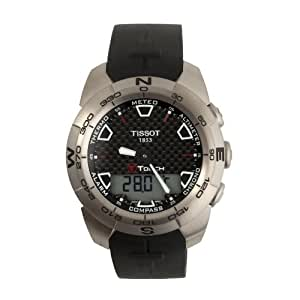 Tissot Men's T0134204720100 T-Touch Expert Titanium Ana-Digi Watch