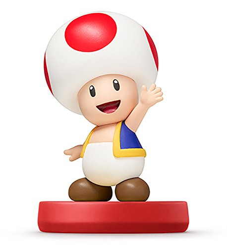 Toad amiibo - Japan Import (Super Mario Bros Series) - 1