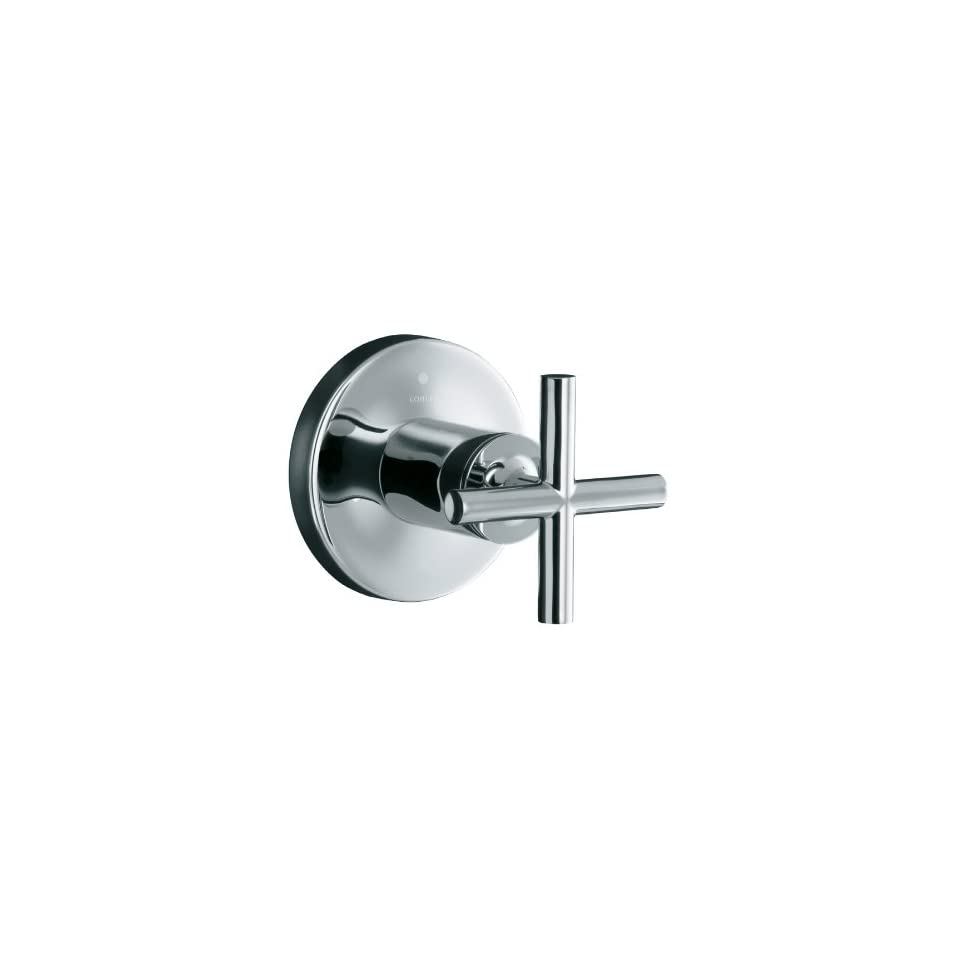 KOHLER Purist Polished Chrome 1 Handle Tub & Shower Faucet with Single