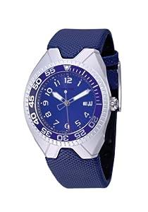 Sector Urban R3251186015 - Reloj de caballero de cuarzo, correa de caucho color azul claro