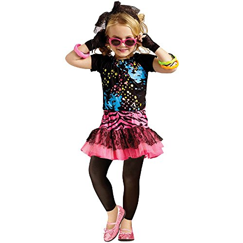 80s Pop Party Diva Kids Costume - 4-6