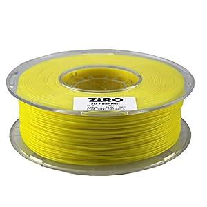 FilamentDirect 3D Printing Filament PLA 1.75 mm Yellow from FilamentDirect.com