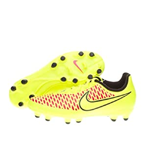 Nike - Magista jr onda fg - Chaussures football moulées - Jaune - Taille 35.5
