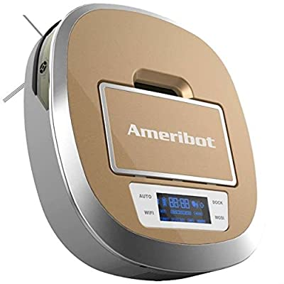 Ameribot Floor Robot Cleaner Wet and Dry 1500 sq feet cleaning one time