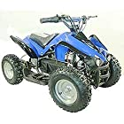 Youth Electric ATV Kids Sport Quad for Children with Reverse - Blue