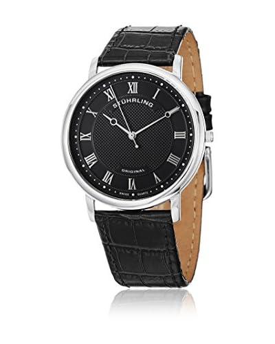 Stuhrling Original Reloj con movimiento cuarzo suizo Classique 645 Negro 38 mm