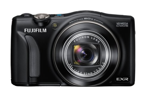 Fujifilm F800EXR 16MP Digital Camera  20x Optical