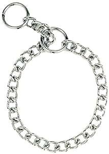 Herm Sprenger Steel Chain Choke  Dog Collar 20 in. with 3 mm. Heavy links