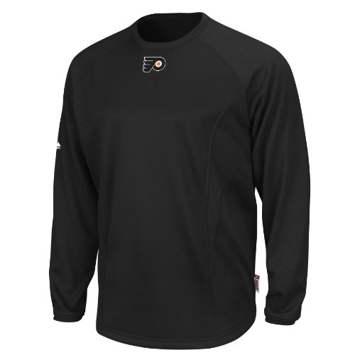 NHL Philadelphia Flyers Long Sleeve Crew Neck