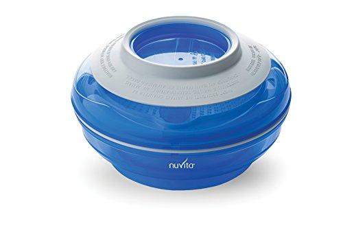 Nuvita 1465 Pappafacile 4-in-1 Set Pappa Multi-Uso, Azzurro