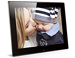 Sinvitron 8.0 Inch Digital Photo Frame 800 x 600 Pixels with Automatic Play function,Picture Frame support Format:JPEG,MP3,MP4(up to 1280 x 720P)