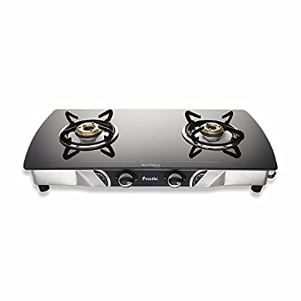 Streak Glass GTS 103 Gas Cooktop (2 Burner)
