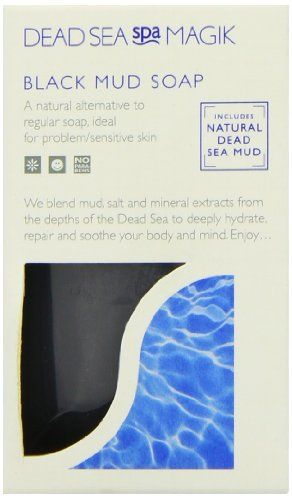 Dead Sea Spa Magik Black Mud Soap (100g)