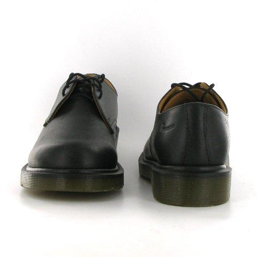 Dr.Martens 1462 PW Black Leather Mens Shoes Size 8