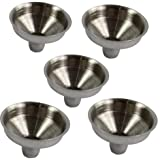5 pieces NEW Stainless Steel Funnel For All Kind Of Hip Flasks