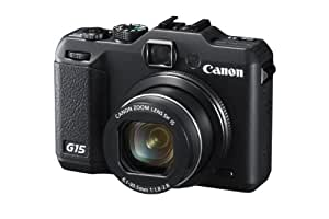 Canon Powershot G15 ( 13.3 MP,5 x Optical Zoom,3 -inch LCD )