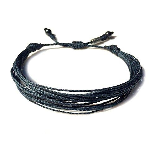 unisex-navy-string-friendship-bracelet-with-hematite-stones-handmade-multistrand-pull-cord-adjustabl