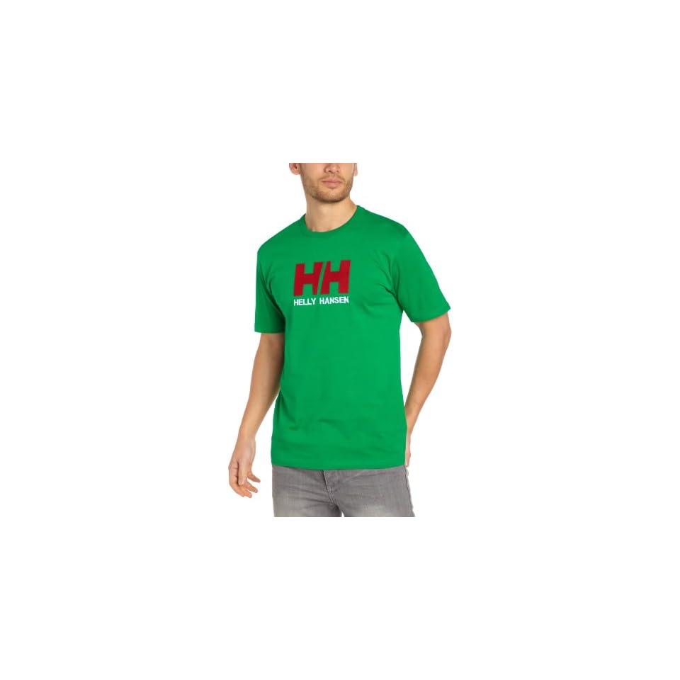 Helly Hansen Mens HH Logo Ss Tee 405 L  Fashion T Shirts  Sports & Outdoors