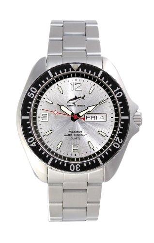 Chris Benz One Man CBO-SI-SW-MB Elegante orologio da uomo Orologio da immersione